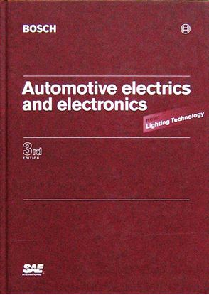 Picture of AUTOMOTIVE ELECTRICS AND ELECTRONICS 3° ED. BOSCH : NEW LIGHTING TECHNOLOGY