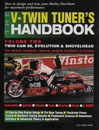 Picture of THE V-TWIN TUNER'S HANDBOOK VOL.2: Twin Cam 88 Evolution & Shovelhead