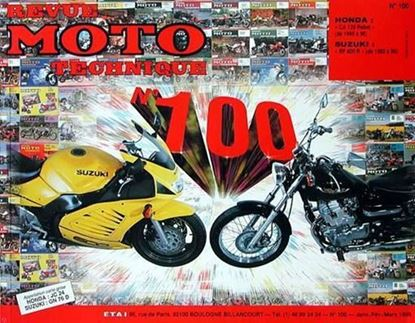 "Picture of HONDA CA 125 REBEL (1995-2000) N° 100 - SERIE ""REVUE MOTO TECHNIQUE"""