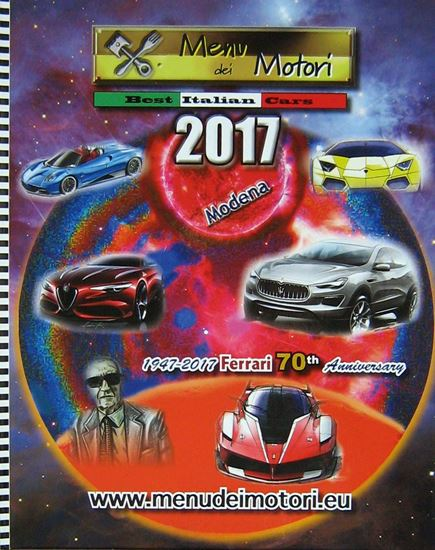 Picture of MENU DEI MOTORI N.21 1947-2017 FERRARI 70TH ANNIVERSARY