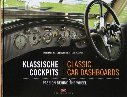 Picture of KLASSISCHE COCKPITS/CLASSIC CAR DASHBOARDS: Passion behind the Wheel
