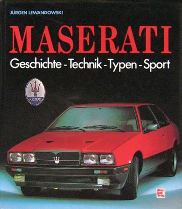 Picture of MASERATI: GESCHICHTE TECHNIK TYPEN SPORT