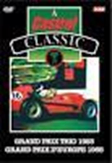 Immagine di A CASTROL CLASSIC - GRAND PRIX TRIO 1955 GRAND PRIX D'EUROPE 1958 (Dvd)