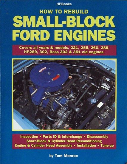 Picture of HOW TO REBUILD SMALL-BLOCK FORD ENGINES