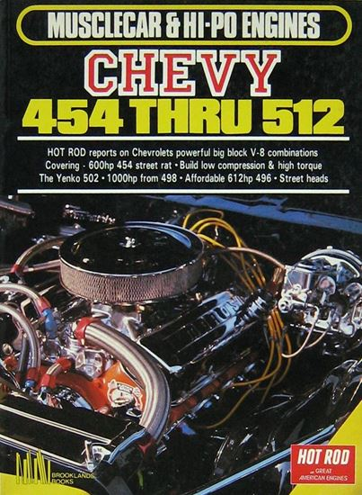 Picture of MUSCLECAR & HI-PO ENGINES: CHEVY 454 THRU 512
