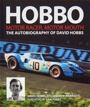 Immagine di HOBBO MOTOR RACER MOTOR MOUTH The Autobiography Of David Hobbs