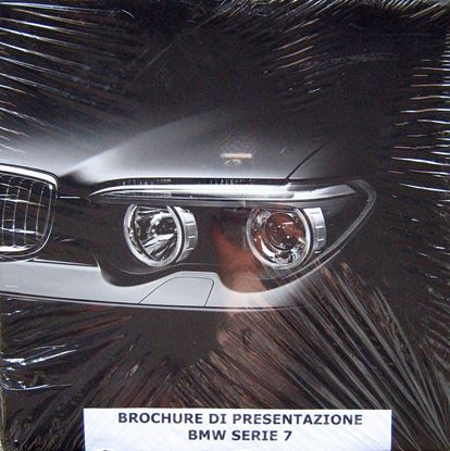 Picture of BMW SERIES 7: BROCHURE OF PRESENTATION  + SLIPCASE