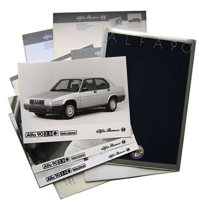 Immagine di ALFA 90 PRESS RELEASE 05-1985