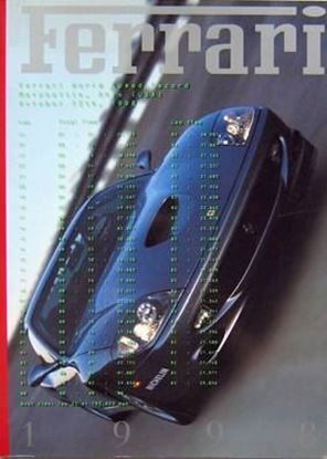 Picture of FERRARI ANNUARIO/OFFICIAL YEARBOOK 1998 - Testo inglese/English text