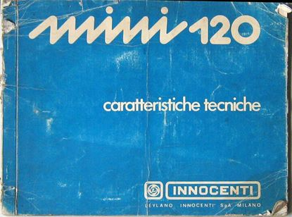 Picture of MINI 120 CARATTERISTICHE TECNICHE