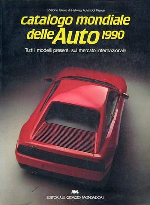 Picture of CATALOGO MONDIALE DELLE AUTO 1990
