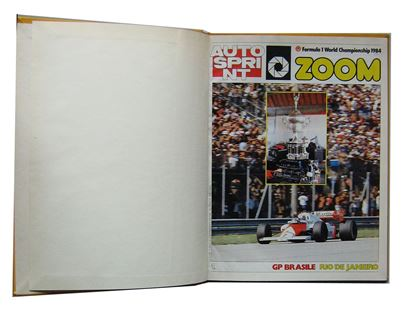 Immagine di AUTOSPRINT 1984 ZOOM F1 WORLD CHAMPIONSHIP 1984