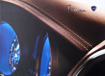 Picture of LANCIA THEMA 2011 BROCHURE DI PRESENTAZIONE