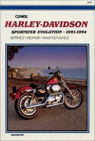 Picture of HARLEY DAVIDSON SPORTSTER EVOLUTION 1991-1994 CLYMER REPAIR MANUALS M429