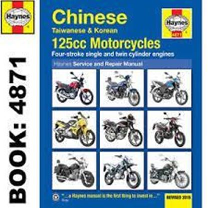Picture of CHINESE TAIWANESE & KOREAN SCOOTERS 125cc MOTORCYCLES SERVICE AND REPAIR MANUAL N. 4871