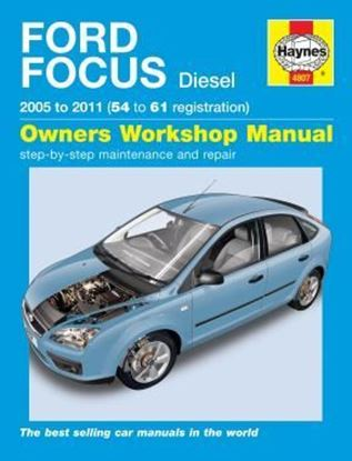 Picture of FORD FOCUS DIESEL 2005 TO 2011 OWNERS WORKSHOP MANUAL N. 4807