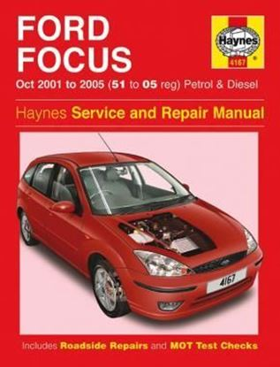 Picture of FORD FOCUS (Oct 2001 to 2005) PETROL & DIESEL SERVICE AND REPAIR MANUAL N. 4167
