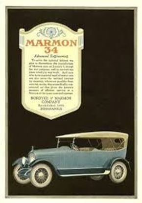 Picture of MARMON 34 THE POSTER BOOK OF ANTIQUE AUTO ADS 1898-1920