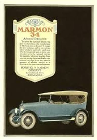 Immagine di MARMON 34 THE POSTER BOOK OF ANTIQUE AUTO ADS 1898-1920