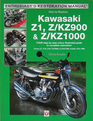 Picture of HOW TO RESTORE KAWASAKI Z1, Z/KZ900 & Z/KZ1000
