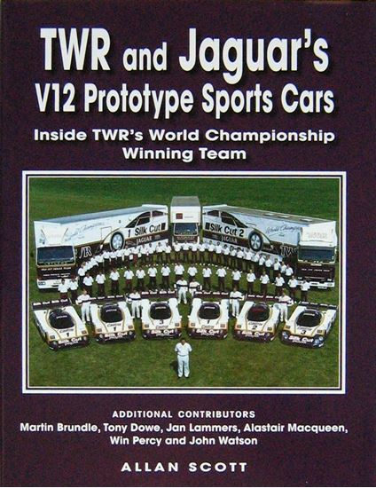 Immagine di TWR AND JAGUAR'S V12 PROTOTYPE SPORTS CARS: Inside TWR's World Championship Winning Team