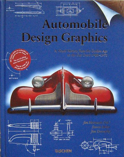 Immagine di AUTOMOBILE DESIGN GRAPHICS: A Visual History from the Golden Age to the Gas Crisis 1900-1973