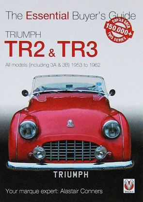 Immagine di TRIUMPH TR2, & TR3: ESSENTIAL BUYER'S GUIDE. All models (including 3A & 3B) 1953 to 1962