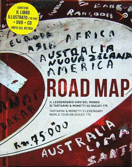 Picture of ROAD MAP: Il Leggendario Giro del Mondo di Tartarini & Monetti su Ducati 175/ Tartarini & Monetti 'S Legendary World Tour on Ducati 175 (LIBRO + CD + DVD)