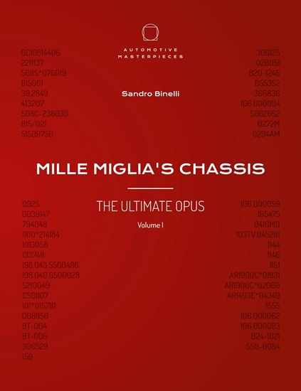 Picture of MILLE MIGLIA'S CHASSIS - THE ULTIMATE OPUS VOLUME 1