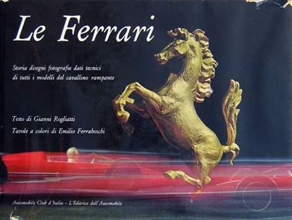 Picture of LE FERRARI + letter by Enzo Ferrari