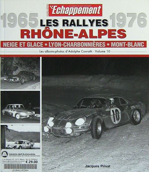 Picture of RALLYES RHONE ALPES 1965-1976 HORS-SERIE ECHAPPEMENT
