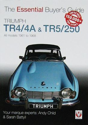 Immagine di TRIUMPH TR4/4A & TR5/250: ESSENTIAL BUYER'S GUIDE. All models 1961 to 1968