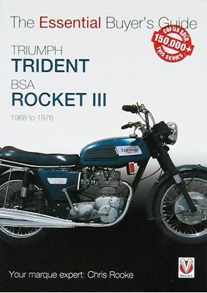 Picture of TRIUMPH TRIDENT & BSA ROCKET III: ESSENTIAL BUYER'S GUIDE. All models 1968 to 1976
