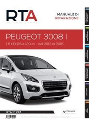"Picture of PEUGEOT 3008I - SERIE ""RIVISTA TECNICA DELL'AUTOMOBILE"" N.297"