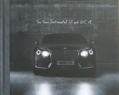 Immagine di BENTLEY THE NEW CONTINENTAL GT AND GTC V8