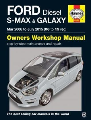 Immagine di FORD DIESEL S-MAX & GALAXY Mar 2006 to July 2015 (06 to 15 reg) OWNERS WORKSHOP MANUAL N.6299
