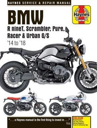 Picture of BMW R NINET SCRAMBLER PURE RACER 6 urban g/s 2014 to 2018 SERVICE & REPAIR MANUAL N. 6402