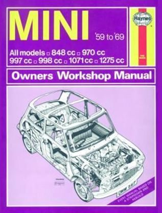 Picture of MINI ALL MODELS 1959-69 CLASSIC REPRINT-OWNERS WORKSHOP MANUAL N. 527