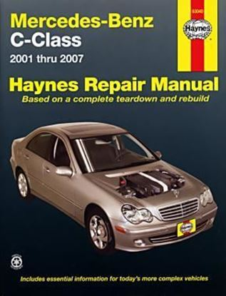 Picture of MERCEDES-BENZ C-CLASS 2001 TO 2007 N.63040 OWNERS WORKSHOP MANUALS