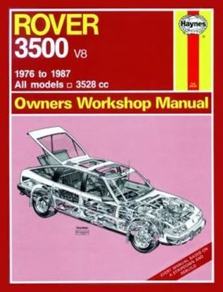 Picture of ROVER 3500 V8 1976 TO 1987 N. 365 OWNERS WORKSHOP MANUALS