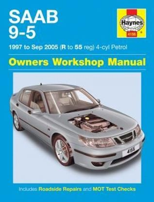 Picture of SAAB 9-5 1997-2005 (R to 55 Reg) 4-cyl Petrol N.4156 OWNERS WORKSHOP MANUAL