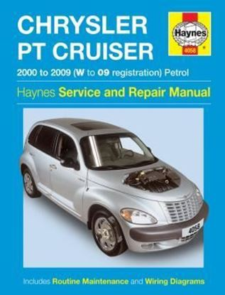 Immagine di CHRYSLER PT CRUISER 2000 TO 2009 (W to '09 Registration) Petrol SERVICE & REPAIR MANUAL N. 4058