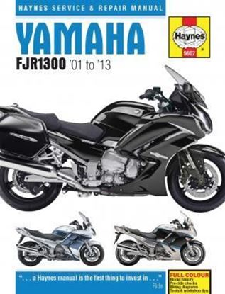 Immagine di YAMAHA FJR1300 '01 to '13 SERVICE & REPAIR MANUAL N. 5607