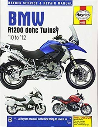 Picture of BMW R1200 DOHC TWINS 2010-2012 SERVICE AND REPAIR MANUAL N. 4925