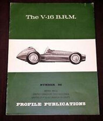 Picture of THE V-16 BRM PROFILE PUBLICATION N.96