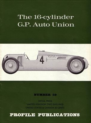 Picture of THE 16-CYLINDER G.P.AUTO UNION PROFILE PUBLICATION N.59