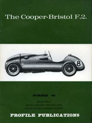 Immagine di THE COOPER-BRISTOL F.2 PROFILE PUBLICATION N.66