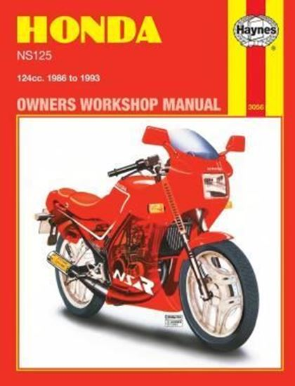 Picture of HONDA NS125 1986-93 N. 3056 - OWNERS WORKSHOP MANUALS