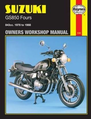 Picture of SUZUKI GS 850 FOURS N. 0536 OWNERS WORKSHOP MANUALS