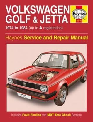 Picture of VW GOLF & JETTA ALL MK1 MODELS OWM 716